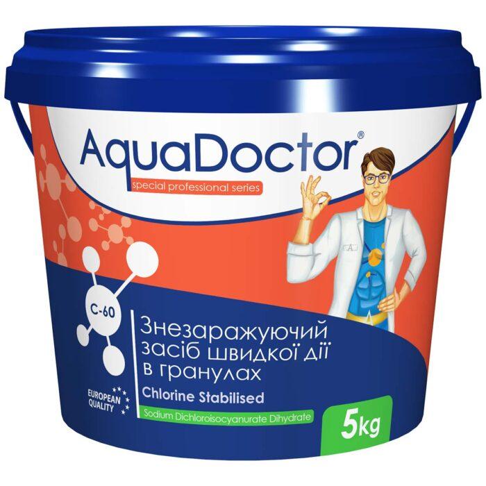 Хлор для бассейна быстрого действия AquaDoctor C-60