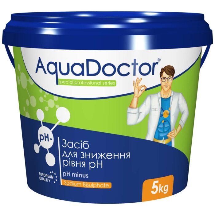 Средство для снижения уровня pH - AquaDoctor pH Minus (5 кг)