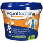 Хлор для бассейна длительного действия AquaDoctor C-90T (5 кг)