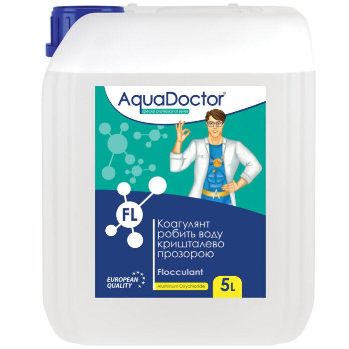 Жидкое коагулирующее средство AquaDoctor FL (5 л)