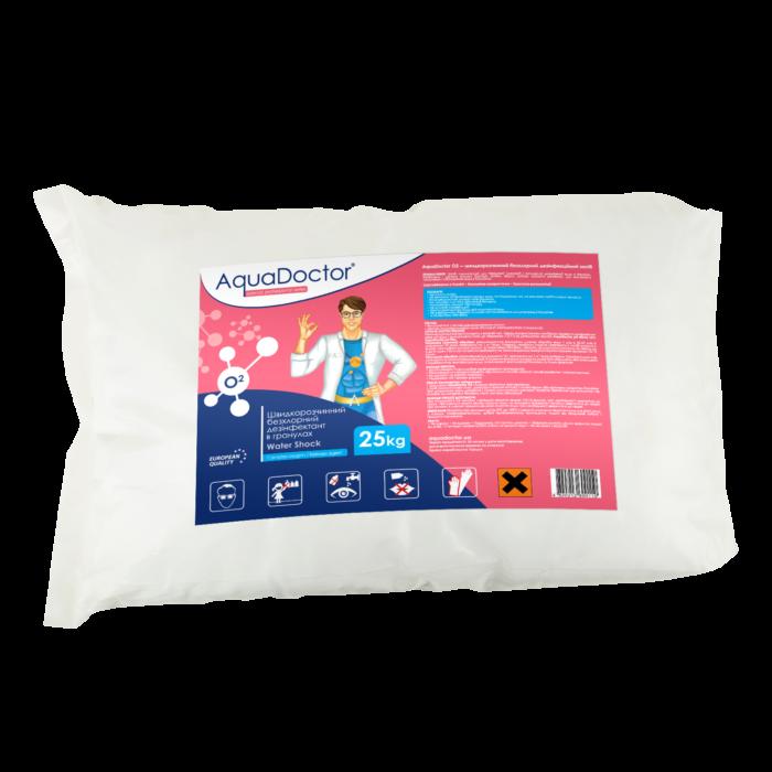 Активный кислород для бассейна AquaDoctor Water Shock О2 (25 кг)