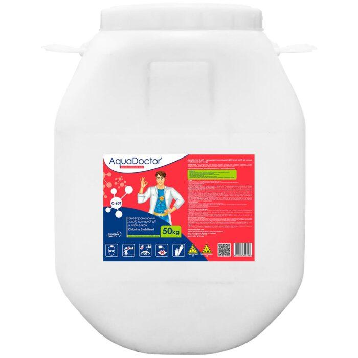 Хлор для бассейна быстрого действия AquaDoctor C-60T (50 кг)