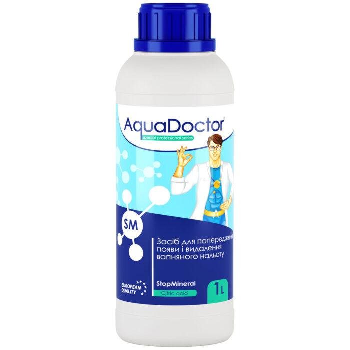 Засіб для зниження жорсткості води AquaDoctor SM StopMineral (1 л)