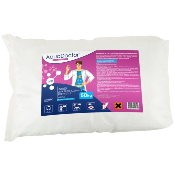 Засiб для підвищення рівня pH AquaDoctor pH Plus (50 кг)