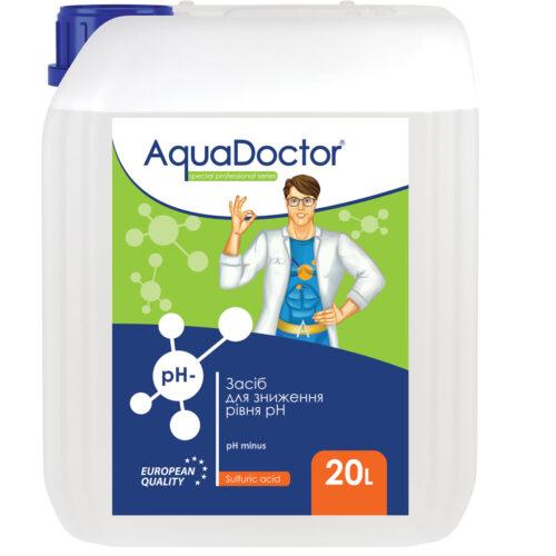 Жидкое средство для снижения pH AquaDoctor pH Minus (Серная 35%)