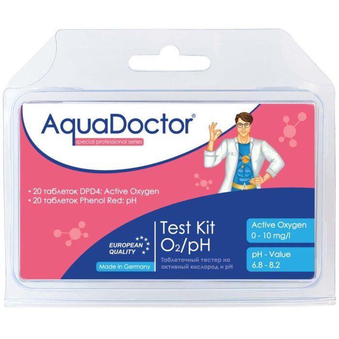 Тестер AquaDoctor Test Kit O2/pH
