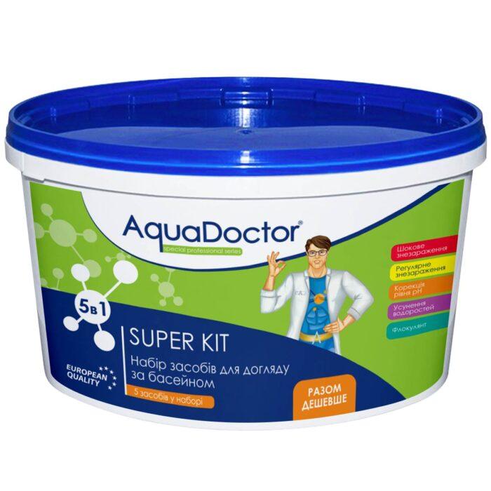 Набор химии для бассейна AquaDoctor Super Kit 5 в 1