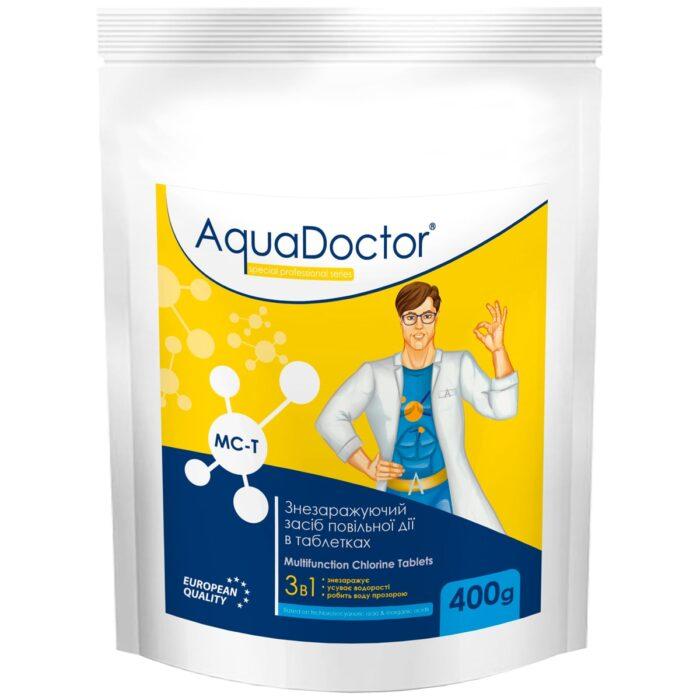 Дезинфектант 3 в 1 на основе хлора AquaDoctor MC-T (0.4 кг)