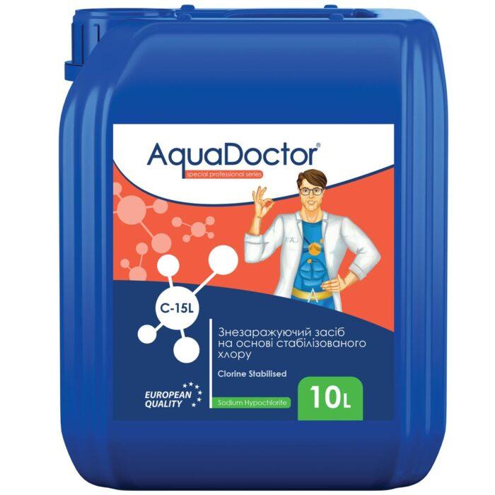 Гіпохлорит натрію AquaDoctor C-15L 10 л